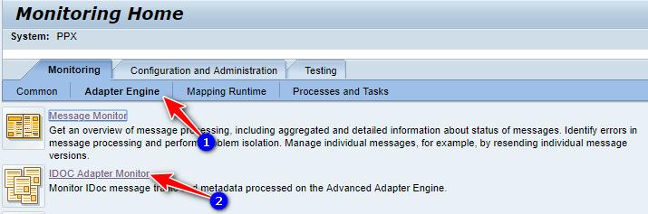 SAP PO->Monitoring: Outbound IDocs – SAP Zero to Hero